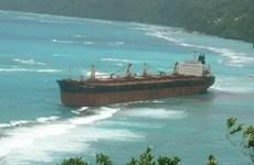 Trục vớt thành công tàu mắc cạn ở vùng đá ngầm gần đảo Solomon