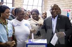 Đảng ANC giành thắng lợi áp đảo trong cuộc tổng tuyển cử ở Nam Phi