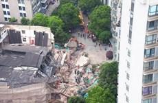 Trung Quốc: Nhiều người mắc kẹt trong vụ sập nhà ở Thượng Hải