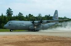 Cảnh sát Nhật bắt giữ người chiếu tia laser vào máy bay quân sự Mỹ