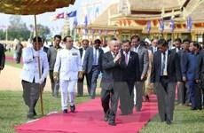 """Hơn 10.000 người Campuchia hào hứng với lễ """"Vua đi cày"""" ở tỉnh Takeo"""