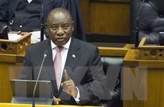 Nghị sỹ Nam Phi bầu lại ông Cyril Ramaphosa làm tổng thống