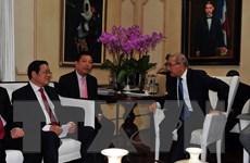 Đoàn đại biểu Đảng Cộng sản Việt Nam thăm, làm việc ở CH Dominicana