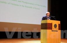 Sinh viên Việt Nam thúc đẩy nghiên cứu khoa học trên đất Hàn Quốc