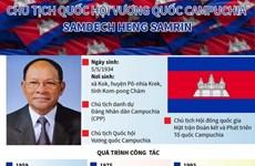 [Infographics] Chủ tịch Quốc hội Campuchia Samdech Heng Samrin