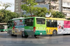 Xử lý người điều khiển xe buýt vi phạm an toàn giao thông ở TP.HCM