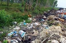 Nghệ An: Ô nhiễm nghiêm trọng tại bãi rác xã Quỳnh Thanh