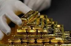 Giá vàng châu Á lên mức cao nhất trong hơn 3 tháng do đồng USD rớt giá