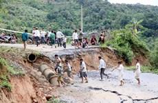 Lai Châu: Sạt lở nghiêm trọng một số tuyến đường giao thông huyết mạch