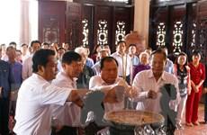 Kỷ niệm 107 năm Ngày sinh Chủ tịch Hội đồng Bộ trưởng Phạm Hùng