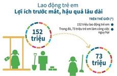[Infographics] Lao động trẻ em: Lợi ích trước mắt, hậu quả lâu dài