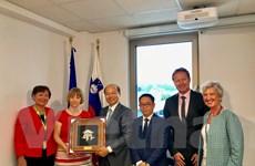 Việt Nam và Slovenia tăng cường quan hệ song phương