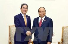 Thủ tướng tiếp Chủ tịch Nhóm Nghị sỹ hữu nghị Hàn Quốc-Việt Nam