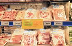 Giá bán lẻ thịt lợn tại Thành phố Hồ Chí Minh vẫn ổn định