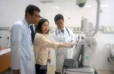 Thử nghiệm ứng dụng robot trên lâm sàng tại Bệnh viện Trẻ em Hải Phòng