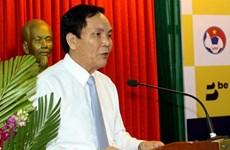 Phó Chủ tịch Liên đoàn bóng đá Việt Nam Cấn Văn Nghĩa xin từ chức