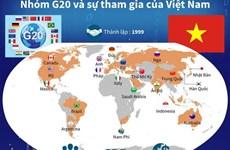 [Infographics] Nhóm G20 và sự tham gia của Việt Nam