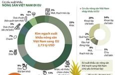 Thương mại hai chiều ngành rau quả Việt Nam-EU tăng trưởng cao