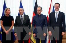 """EU hối thúc Iran """"đảo ngược"""" quyết định vi phạm thỏa thuận hạt nhân"""