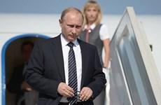 Tổng thống Nga Vladimir Putin bắt đầu thăm Italy và Vatican