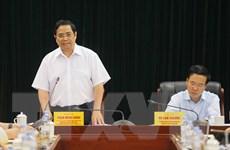 Đoàn Tiểu ban Văn kiện Đại hội XIII làm việc với Ban Tuyên giáo