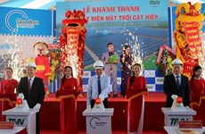 Khánh thành nhà máy điện Mặt Trời công suất 49,5MWp ở Bình Định