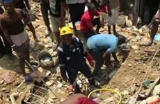 Sập nhà do mưa lớn ở Nigeria, ít nhất 20 người thương vong