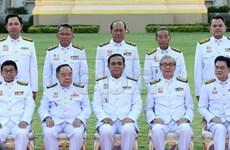Các thành viên nội các mới của Thái Lan tuyên thệ nhậm chức