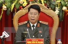 Thủ tướng Lào tiếp thân mật Đoàn Bộ Công an Việt Nam