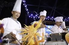 Hình ảnh công bố kỷ lục Việt Nam về 50 món ăn từ Lươn xứ Nghệ
