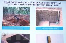 Bình Phước: Phát huy giá trị di tích thành đất hình tròn Thuận Lợi 1