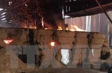Bình Dương: Kịp thời khống chế vụ cháy tại thị xã Thuận An