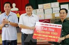 Thông tấn xã Việt Nam tặng quà thương, bệnh binh tại Phú Thọ