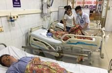 Quảng Ninh: 2 nạn nhân tử vong trong vụ xe khách đâm hàng loạt xe máy