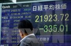 Chứng khoán châu Á đồng loạt giảm điểm do đàm phán thương mại Mỹ-Trung