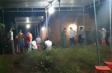 Nghi án cha cắt cổ con trai chết dưới nền nhà tại Đắk Lắk