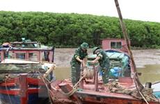 Ứng phó bão số 3: Toàn bộ lao động trên biển của Ninh Bình đã vào bờ