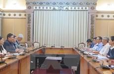 TP Hồ Chí Minh kêu gọi Singapore đầu tư vào hạ tầng và môi trường
