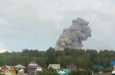 Nga: Nổ kho đạn ở Siberia làm 2 người bị thương phải nhập viện