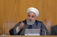 Tổng thống Iran Hassan Rouhani nêu điều kiện đối thoại với Mỹ