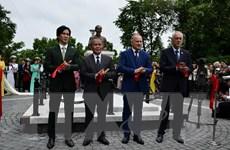 Một vườn hoa ở Nga chính thức được mang tên Chủ tịch Hồ Chí Minh