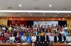 Khóa tập huấn dạy tiếng Việt cho giáo viên người Việt Nam ở nước ngoài
