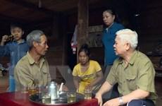 Lãnh đạo Bình Phước thăm hỏi người dân vùng ảnh hưởng bởi mưa lũ