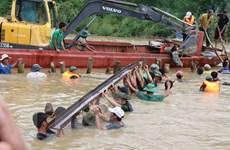 Đắk Lắk khẩn trương khắc phục sự cố vỡ đê bao Quảng Điền