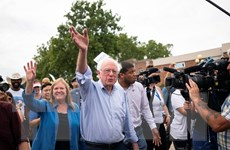 Bầu cử Mỹ: Ứng viên Bernie Sanders được sinh viên ủng hộ cao