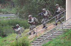 Triều Tiên tiếp tục chỉ trích cuộc diễn tập quân sự chung Hàn-Mỹ