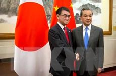 Ngoại trưởng Nhật-Trung gặp nhau trước hội nghị 3 bên với Hàn Quốc