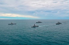 ASEAN-Mỹ ấn định thời điểm tập trận hải quân chung đầu tiên ở Thái Lan
