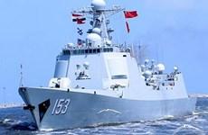 Ai Cập và Trung Quốc tập trận hải quân chung tại Địa Trung Hải