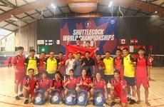 Việt Nam giành nhiều huy chương vàng tại Giải vô địch đá cầu thế giới